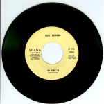 "The Jerms 45 single ""Who's"" released by Shana Records 1966."