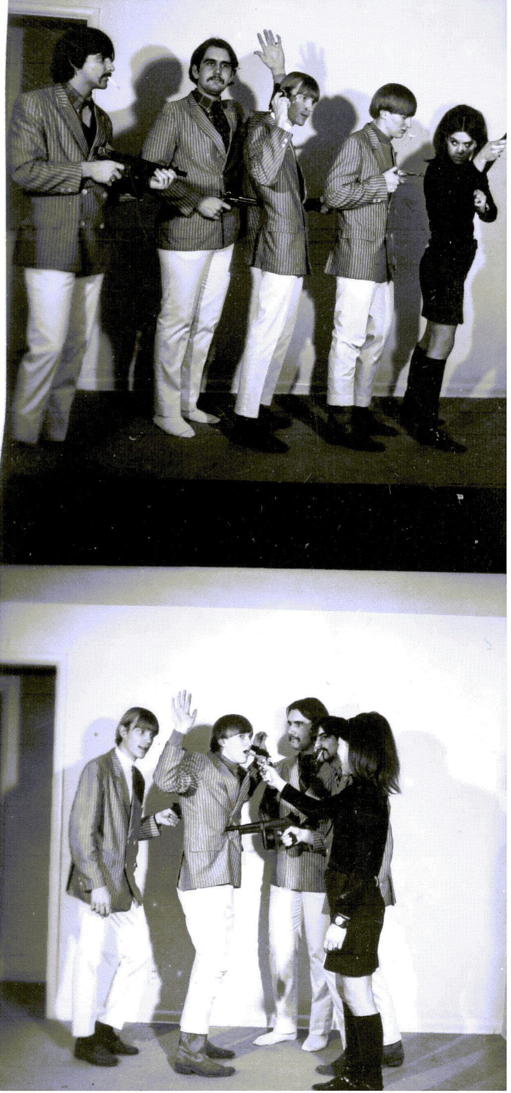 The Jerms group photo 1967.